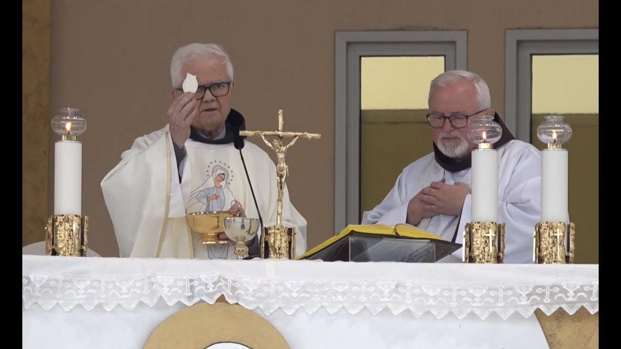 """Photo of Fra Ivan Dugandžić : """"Crkva je nakon dugog vremena pažljivog praćenja i ispitivanja, priznala i prihvatila Međugorje."""""""