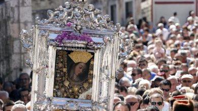 Photo of BLAGDAN VELIKE GOSPE Otkazana središnja procesija sa slikom Gospe Sinjske