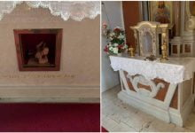 Photo of Oskvrnuta župna crkva u okolici Rijeke:ukradene  moći bl. Stepinca