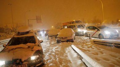 Photo of Snježna oluja koja je paralizirala Madrid ide prema Balkanu